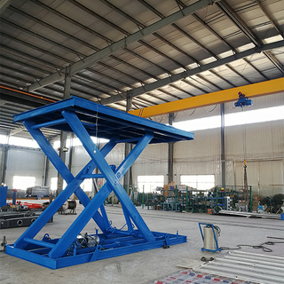 3ton 3m stationary scissor lift for warehouse