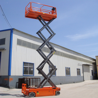 12m Hydraulic Self Propelled Scissor Man Lift Platform