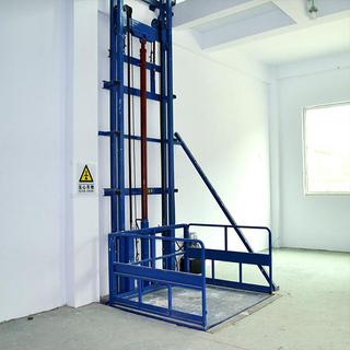 two floor outdoor small load cargo lift for warehouse