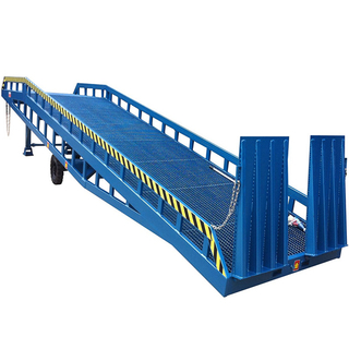 CE Approved adjustable hydraulic mobile dock ramp for sale