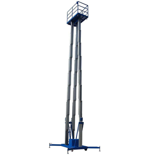 CE ISO 16m Hydraulic Three Mast Aluminum Alloy Lift