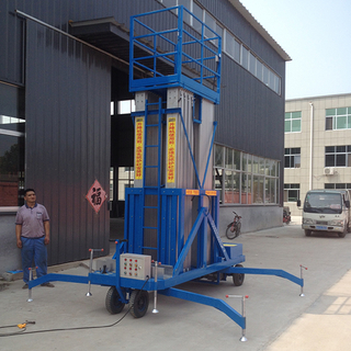 18m Hydraulic Four Mast Aluminum Alloy Lift