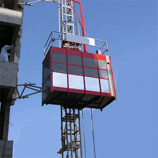 SC200/200 2ton Passenger and Material Construction Elevator Of Construction Lifter
