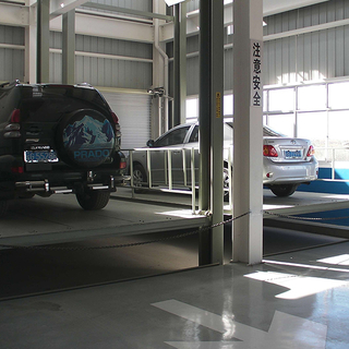 3ton Hydraulic Four Post Car Lift for Home Garage
