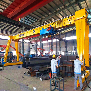 Tavol Brand MH Model Single Girder Overhead Crane with Low Room Lifting Hoist for Low Room Working Conditions