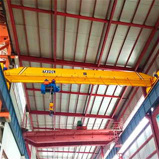 Tavol Brand LD Universal Model Single Girder Overhead Crane with Monorail Wire Rope Hoist with Nice Price for Sale