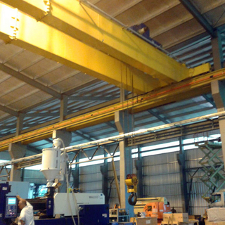 Tavol Brand Process Cranes for Mould Assembling in Argentina