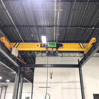 Tavol Brand LE Model Single Girder Overhead Crane with Euro Design Rope Hoist with nice price for Sale