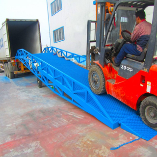 Hydraulic mobile dock ramp for Sale