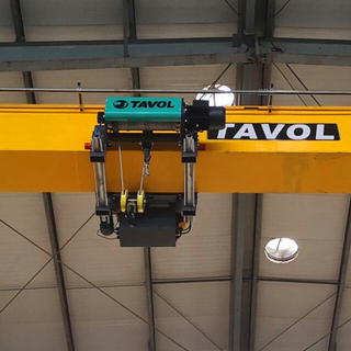 Tavol Brand Low Room Type Wire Rope Electric Hoist with SWL 3.2- 32tons Euro Designs Made in China with Same Quality And Good Looking