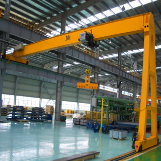 BMH Model Electrical Semi Girder Gantry Crane